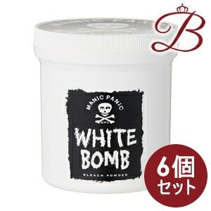 【×6個】MANIC PANIC マニックパニック ホワイトボム ブリーチパウダー 350g