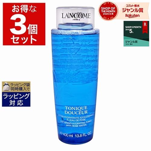 税込 オールスキン肌用化粧水 送料無料 高級品 ランコム トニック ドゥスール もっとお得な3個セット x LANCOME 400ml 3 化粧水