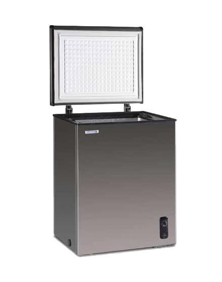冷凍庫 ステンレス ノーフロストステンレス製 チェストフリーザー 100L JH100CR NORFROSTR ノンフロン冷凍庫 日本ゼネラルアプライアンス