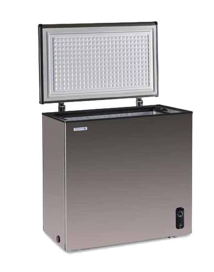 冷凍庫 ステンレス ノーフロストステンレス製 チェストフリーザー 146L JH146CR NORFROSTR ノンフロン冷凍庫 日本ゼネラルアプライアンス