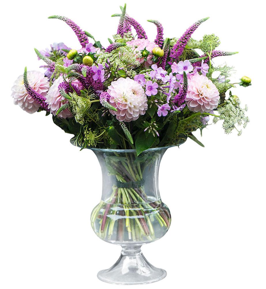 花瓶 フラワーベース ホルムガードオールドイングリッシュ ベース (L) 24cmOLD ENGLISH Vse 4343803ガラス 花器 トレー北欧 インテリア 雑貨 デンマーク