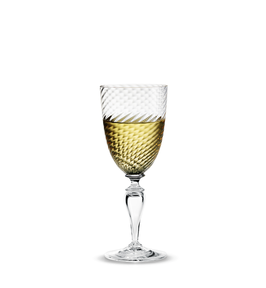 ホルムガード HOLMEGAARDREGINA レジーナ ホワイトワイングラス 180ml 4302702 吹きガラス 北欧雑貨 インテリア【 受注商品 】
