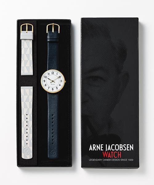 アルネヤコブセン ARNE JACOBSEN ステーション ウォッチ STATION WATCH 40mm 53414-limited 日本限定 200 腕時計 メンズ レディース ローゼンダール ROSENDAHL デンマーク