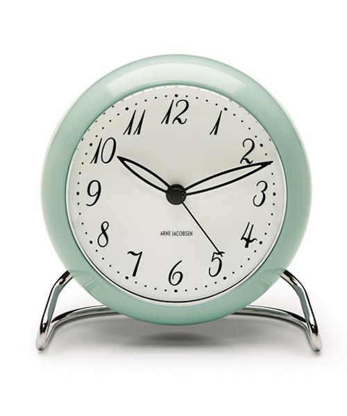 アルネヤコブセン 置き時計 <限定カラー>テーブルクロック アイスブルー 43681ローゼンダール ROSENDAHL