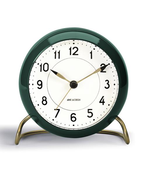 <限定カラー復活> アルネヤコブセン 置き時計テーブルクロック ステーション グリーン 43677ローゼンダール ROSENDAHLTABLE CLOCK STATIONギフト 贈り物 プレゼント ラッピング