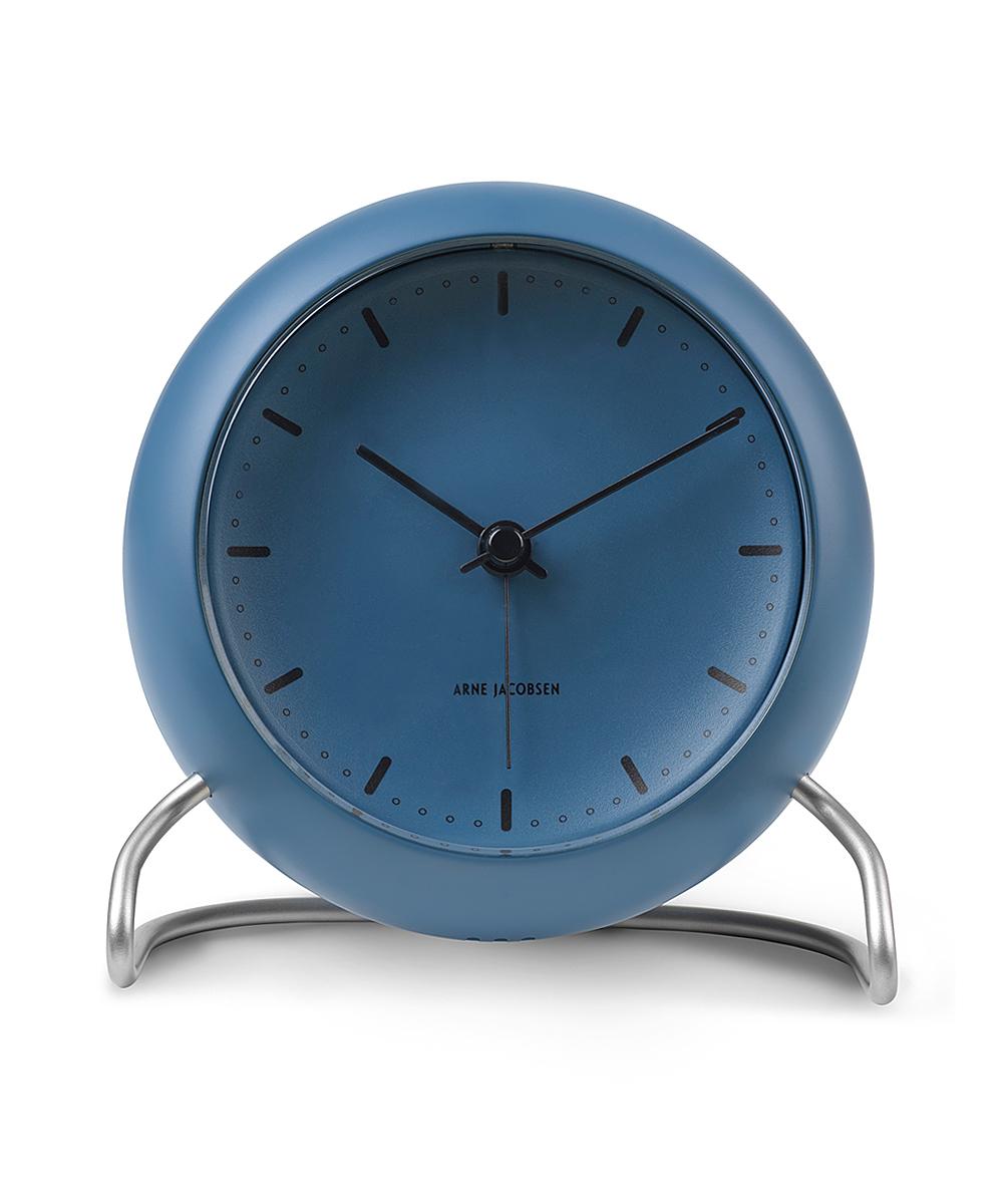 アルネヤコブセン 置き時計テーブルクロック シティーホール ブルーストン STONE BLUE 43691ARNE JACOBSEN ローゼンダール ROSENDAHLTABLE CLOCK STATIONギフト 贈り物 プレゼント ラッピング