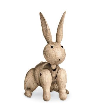 ウサギ ラビット 木製 カイ・ボイスン デンマークRabbit ウサギ #39203 木製玩具北欧 ギフト インテリア 木製 置物 ギフトボックス