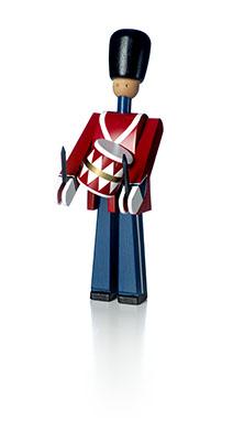 衛兵 木製 カイ・ボイスン デンマーク Royal Guard 衛兵 太鼓持ち <ドラマー> 39024 木製玩具 インテリア 木製 置物 ギフト