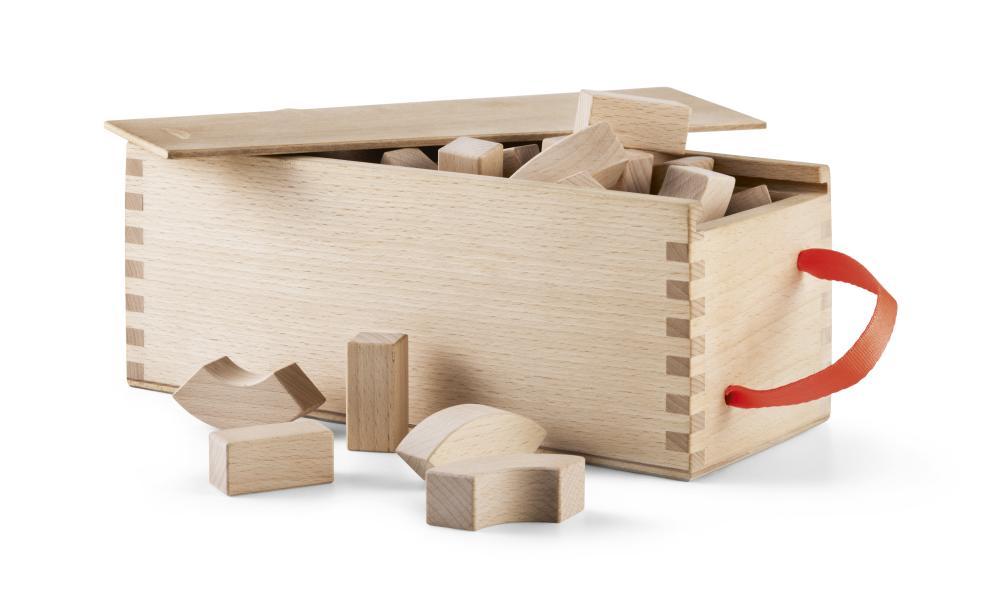 子供ブロック カイ・ボイスン デンマークアルファベット ブロック 39440 木製玩具 北欧/ギフト/プレゼント/贈り物