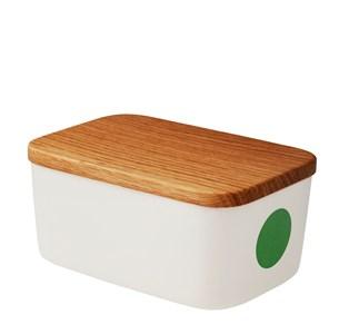 バターケース 容器・ストッカー・調味料容器HELBAK ヘルバックDOT butterbox バターボックスカラー:Green グリーン DO28-20北欧雑貨 デンマーク 小物 ハンドメイド
