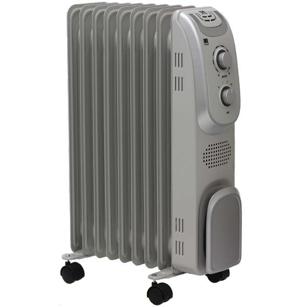 オイルヒーター DBK DRM1009GMドイツ製クリーンヒーター 暖房 ヒーターオイルラジエターヒーター シンプルタイプ