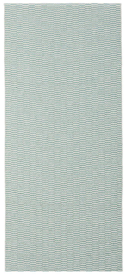 ラグ プラスティック ブリタ スウェーデンプラスチックラグ PEMBA Aqua ペンバ アクア 70x150cm 13-221504ラグ マット ライナー