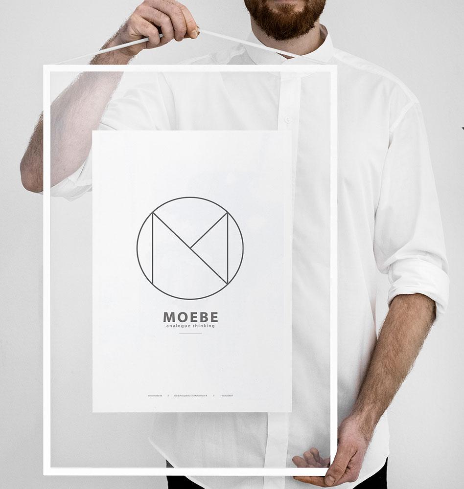 MOEBE ムーベ フレーム FRAME A2 White ホワイト / 額縁 / 壁掛け / ギフト / 写真 / ポスター / デンマーク 北欧 FAWA2