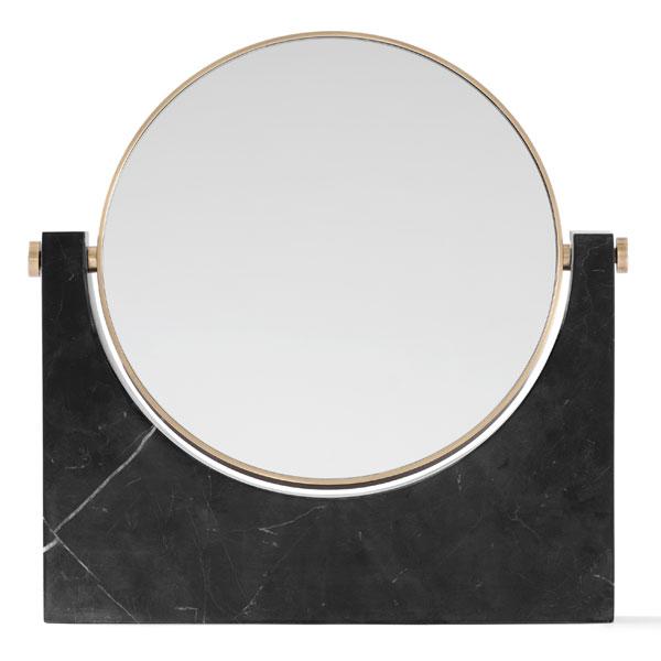 MENU ぺぺマーブルミラー ブラス/ブラック 3600539大理石 鏡 インテリア雑貨 北欧雑貨
