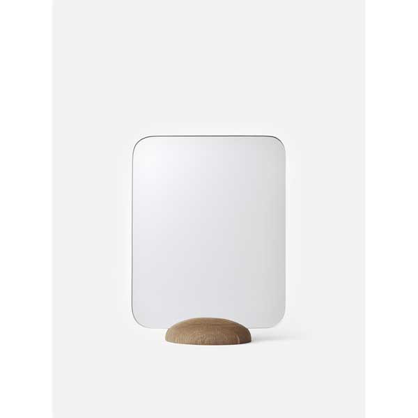 MENU グライディミーミラー ナチュラルオーク 4000019卓上ミラー 鏡 インテリア雑貨 北欧雑貨