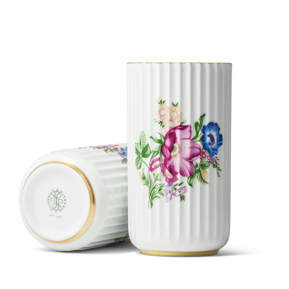 花瓶 フラワーベース 磁器 | リュンビューポーセリン ベース フラワー 15cm LYNGBY PORCELAIN VASE 200682 | 北欧雑貨 デンマーク ドイツ製
