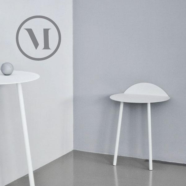 ローテーブル NEMU メニュイェーウォールテーブル ロータイプ ホワイト 8600639/ライトグレイ8600139家具 サイドテーブル 机 北欧雑貨 インテリア【送料無料】