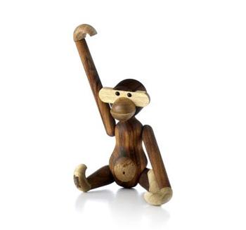 カイ・ボイスン デンマーク KAY BOJESEN DENMARK  Monkey Small 20cm モンキー (猿) <S> #39250 木のオブジェ 木製玩具 北欧/ギフト/プレゼント/贈り物【 送料無料 】