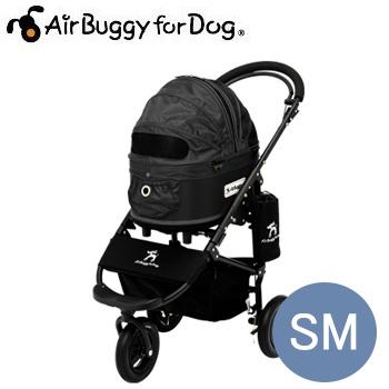 【送料無料】【ポイントUP】AirBuggyforDog(エアーバギー) ドーム2ブレーキモデルセット SM ブラック【キャリーバッグ/キャリーカート/ペットバギー/ペットカート】【犬用品・犬/ペット用品・ペットグッズ】