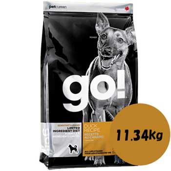 GO! SS LID ダック 11.34kg【ドックフード/グレインフリー/ドッグ/犬用】