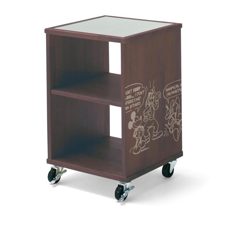 【Disney】ディズニー サイドテーブル 「ブラウン」 家具 収納 サイド テーブル コンソール