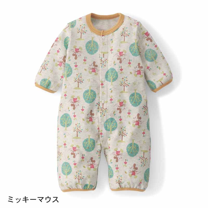 f2b88af349ce1  Disney ディズニー長袖ツーウェイオール「ミニーマウス」50~60ベビー服新生児