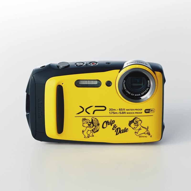 【Disney】ディズニー 防水デジタルカメラ 「チップ&デール」 家電 生活家電 カメラ デジカメ 撮影