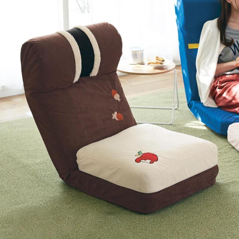 【Disney】ディズニー クッション付き座椅子 「チップ&デール」 ◇ 家具 収納 座 椅子 いす ◇