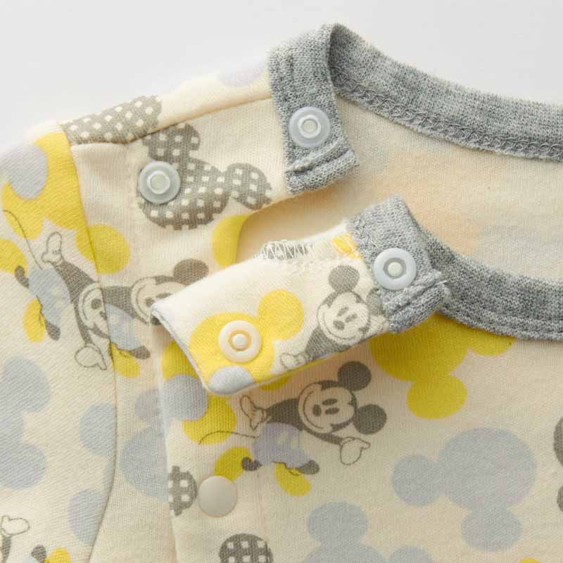 17054ff9dc6fa  Disney ディズニーカエルロンパース「ミッキー&ミニー」607080ベビー服ベビー服新生児男の子