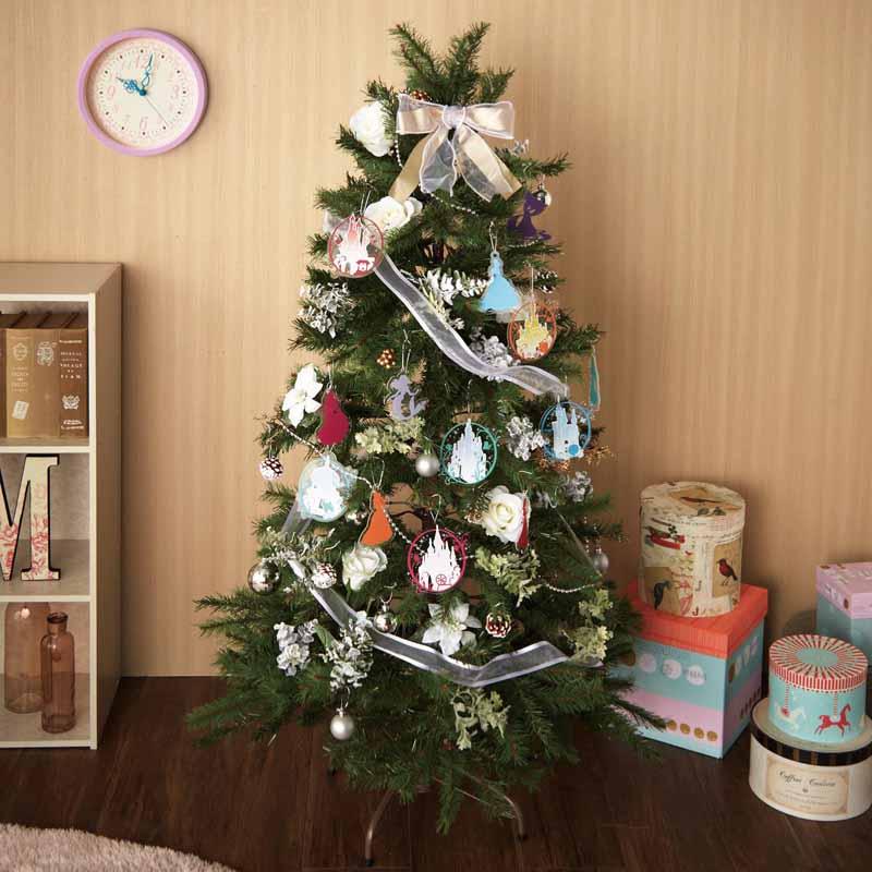 【Disney】ディズニー 150cmのクリスマスツリー/ディズニー プリンセス ◇ クリスマス ツリー インテリア 雑貨 おしゃれ グッズ 飾り 置物 置き 物 オーナメント デザイン◇
