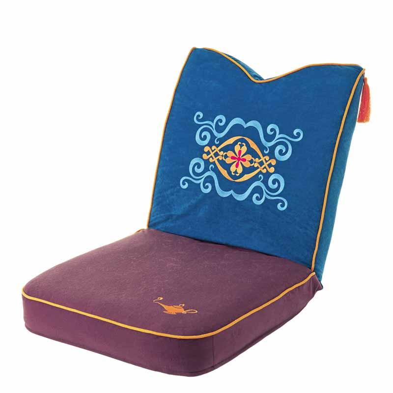 【Disney】ディズニー キャラクターイメージの座椅子 「アラジン」 ◆ アラジン ◆ ◇ 家具 収納 座 椅子 いす ◇