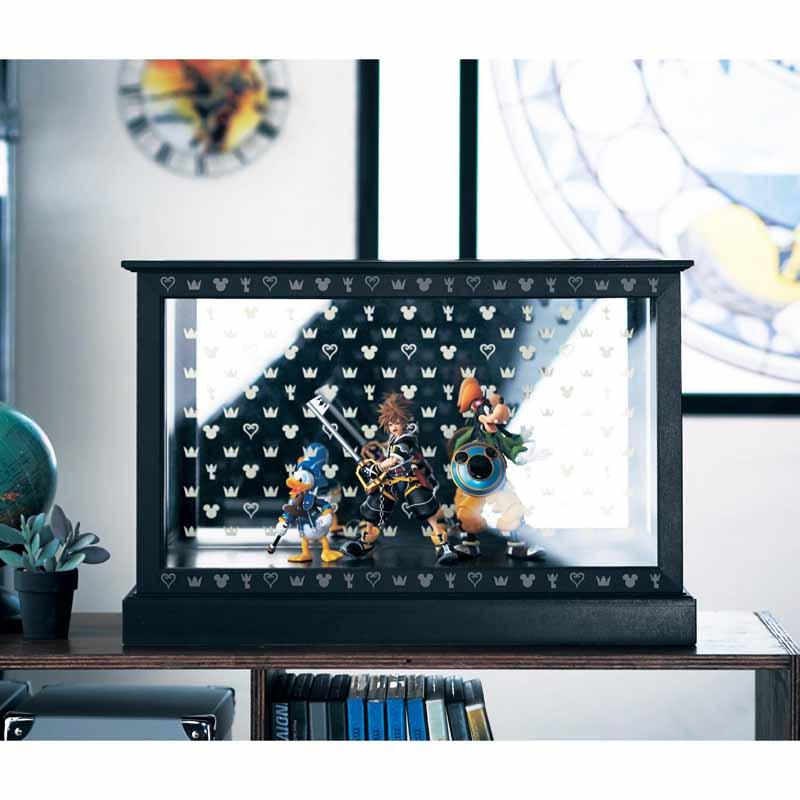 【Disney】ディズニー 空間を広く使えるコレクションケース ◇ 家具 収納 ボックス ケース アクセサリー 時計 コレクション 収集 ◇