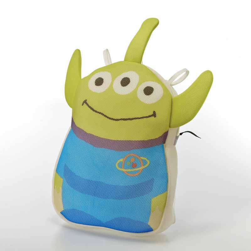 Image result for おもちゃ収納ネットとしても使える洗濯ネット エイリアン