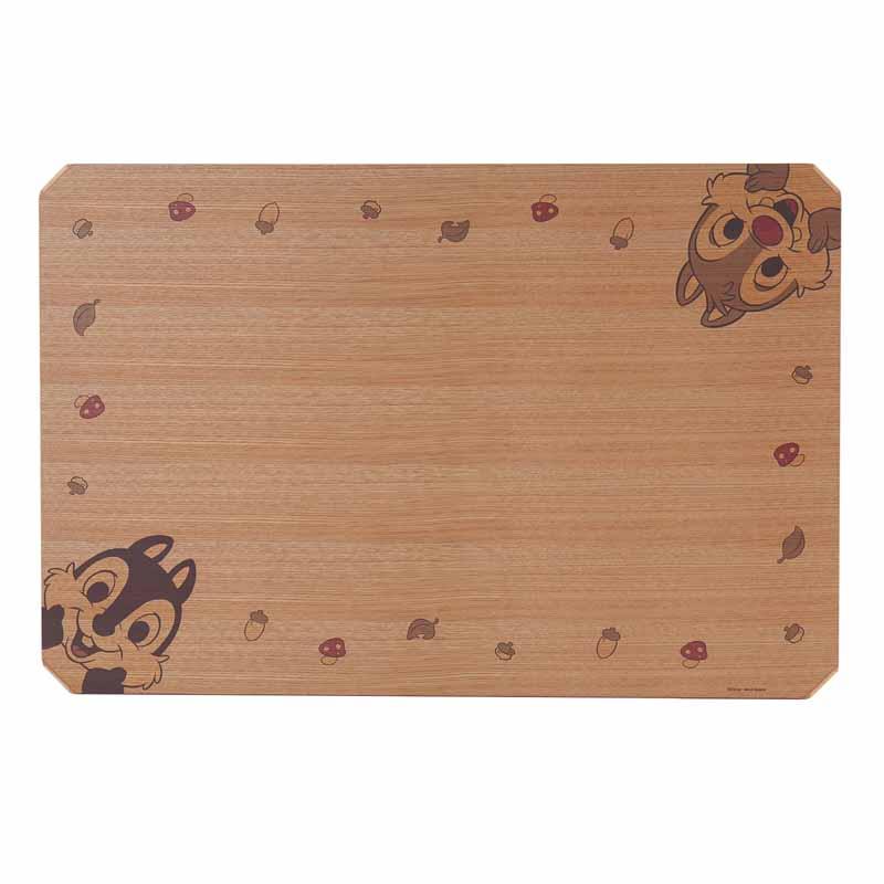 【Disney】ディズニー 天板が外せるリビングテーブル 「チップ&デール(ナチュラル)」 ◆ 長方形(大) ◆ ◇ 家具 収納 ロー テーブル 座卓   ◇