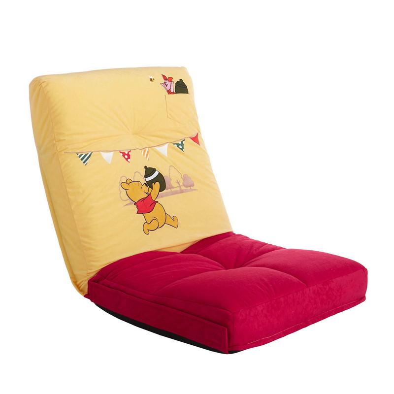 【Disney】ディズニー つなげて使える座椅子 「くまのプーさん」