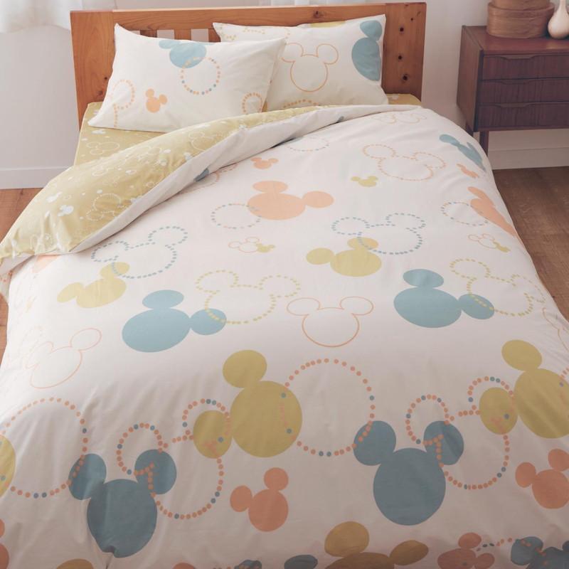 綿100%の布団カバー3点セット ◇ 寝具 布団 ベッド カバー セット 掛け敷き 掛け布団 3点 bed ファブリック ◇