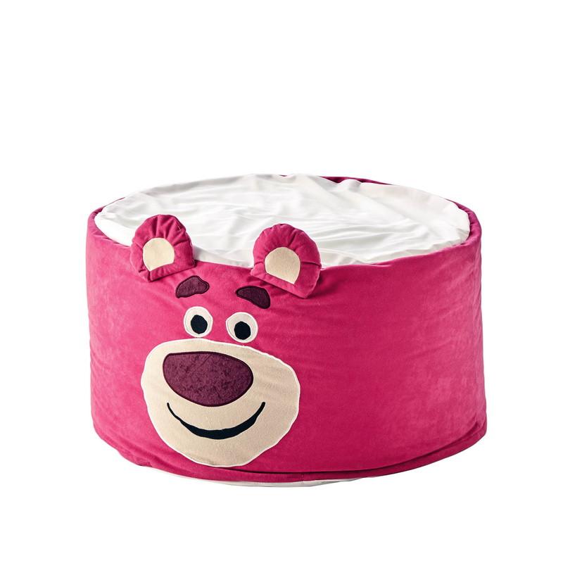 【Disney】ディズニー 3WAYでくつろげるマイクロビーズクッション 「ロッツォ」 ◇ 座布団 クッション 本体 汚れ 防止 おしゃれ かわいい デザイン ◇
