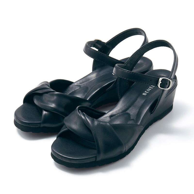 ベルメゾン 注目ブランド 大人ファッション ベネビス 軽量 ソフトオフィス サンダル ブラック S 21.5~22cm M 22.5~23cm 激安価格と即納で通信販売 L ミュール シューズ プール 23.5~24cm 24.5~25cm LL 海 レジャー 女性 靴 レディース