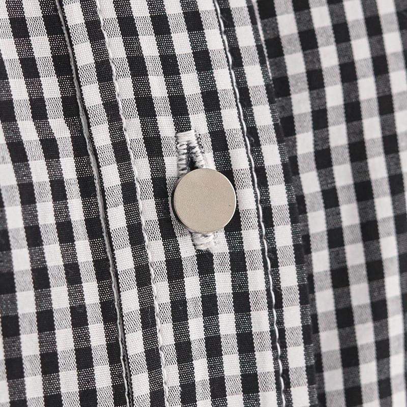 しなやか 光沢 綿 100% ひさし袖 シャツ チュニックオフホワイト ブラック◇ レディースファッション レディース シャツ ブラウス ベルメゾン ◇Ok0PXwn8