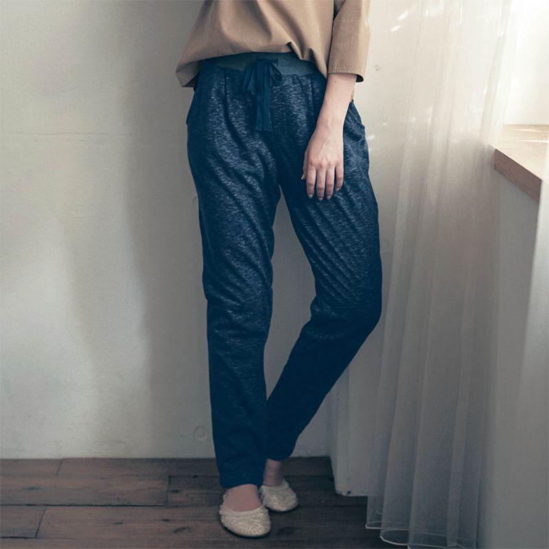 ベルメゾン 大人ファッション my necesa バーゲンセール パジャマ ルームウェア 裏ボアスウェット パンツ ネイビー系 LL 卸直営 L S DP M 女性 ルーム 部屋着