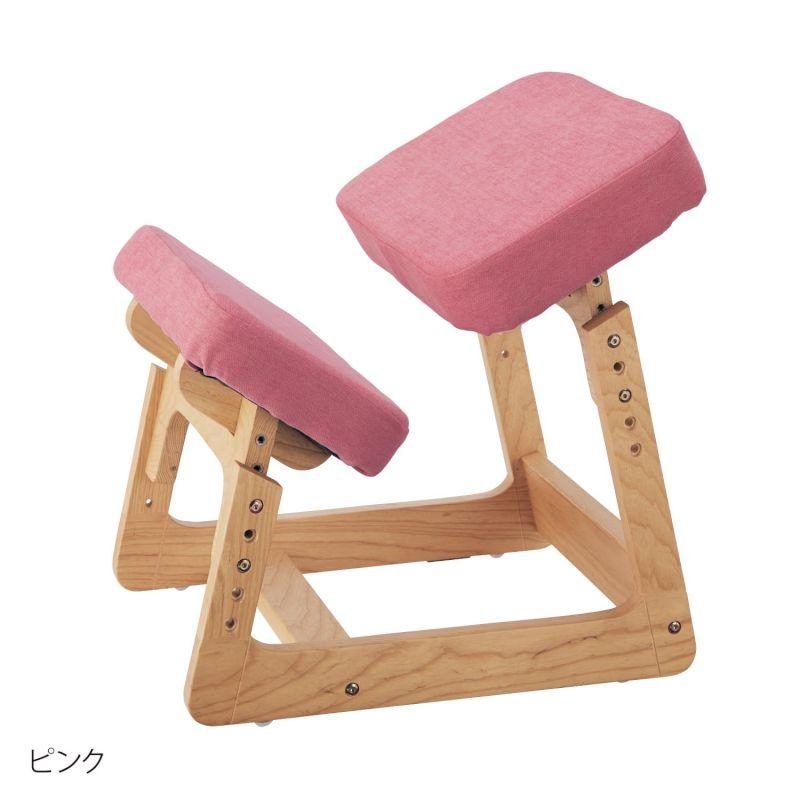 ●ベルメゾン 背すじピンと学習チェア 「ピンク」 ◇ 家具 収納 子ども 子供 キッズ 学習 机 椅子 いす BELLE MAISON DAYS 新生活 ◇