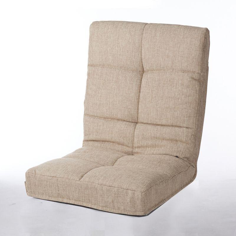 【BELLE MAISON】ベルメゾン つなげて使える座椅子 「ベージュ」 ◇ 家具 収納 座 椅子 いす 新生活 ◇