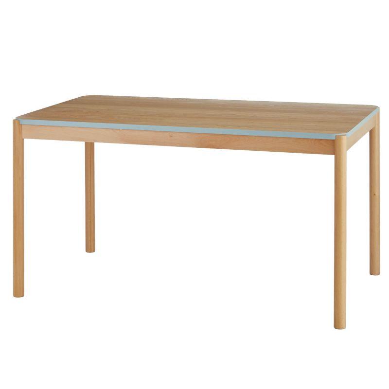 ベルメゾン 空間をさりげなく彩る。ビーチ材のダイニングテーブル 「ライトグレー」◇ 家具 収納 ダイニング テーブル セット 椅子 イス チェア ベンチ 食卓 BELLE MAISON DAYS ◇