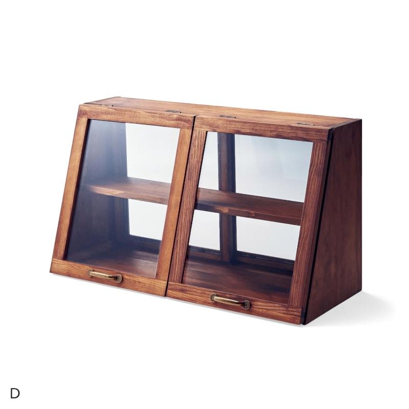 ベルメゾン アンティーク調カウンター上キャビネット 「ブラウン」◆D/60×35(タイプ/幅×高さ(cm))◆◇ 家具 収納 キッチン カウンター 上 下 調理 家電 作業 食器 ツール ◇