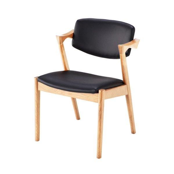 【BELLE MAISON】ベルメゾン 椅子 ダイニングチェア おしゃれ 天然木のデザインチェア同色2脚セット カラー 「ナチュラル」 ◆ナチュラル◆ ◇ 家具 収納 椅子 チェア いす ダイニング ◇