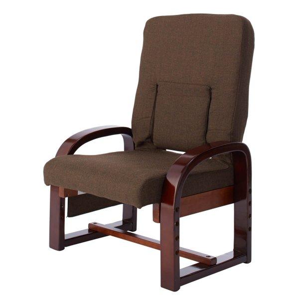 【エントリーでP10倍!5/1(水)9:59まで】【BELLE MAISON】ベルメゾン 座椅子 おしゃれ 腰にやさしい高脚座椅子 ◇ 家具 収納 座 椅子 いす 新生活 ◇