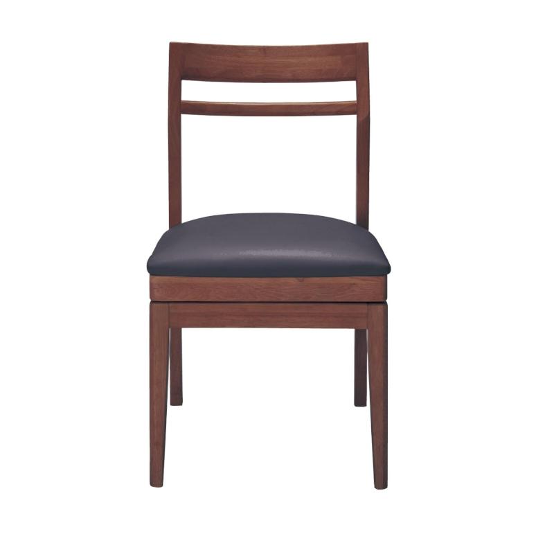 ベルメゾン 回転式ダイニングチェア 「 ダークブラウン 」 ◇ 家具 収納 椅子 チェア いす ダイニング 人 掛け 天然木 おしゃれ シンプル BELLE MAISON DAYS ◇