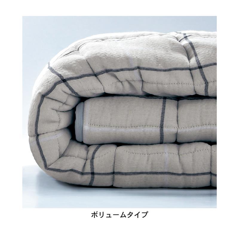 綿100%しじら織りのしゃりさらキルトラグ