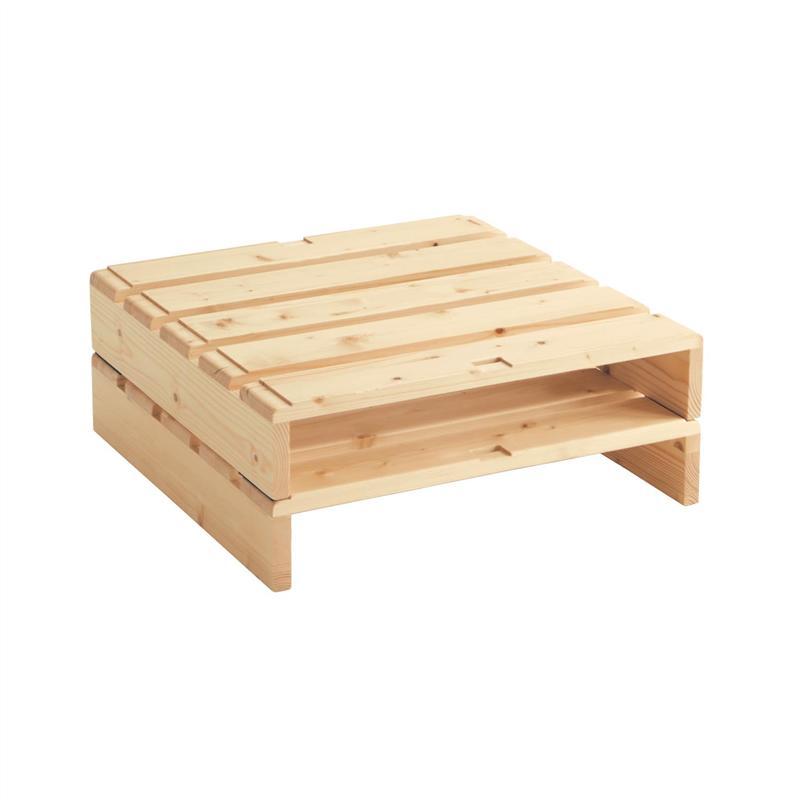 公式 家具 インテリアのベルメゾン 市場店 ベルメゾン 簡単に組み替えられるパレット風ベッド ナチュラル bed アイテム勢ぞろい 通気 寝具 本体 2枚セット ベッド すのこ 高額売筋