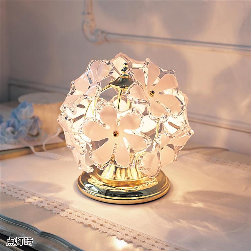 ベルメゾン お花のスタンドライト ◇ ベルメゾン 照明 ライト ランプ 器具 ◇